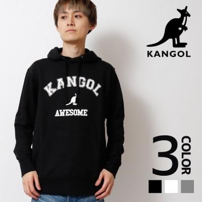 KANGOL カンゴール プリントプルオーバーパーカー メンズ レディース 男女兼用 長袖 トップス スウェット スエット カジュアル ストリート