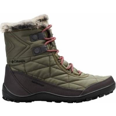 コロンビア レディース ブーツ・レインブーツ シューズ Columbia Women's Minx Shorty III Wateproof 200g Winter Boots Nori