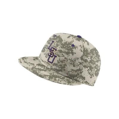 ナイキ 帽子 アクセサリー レディース L.S.U. Aerobill True Fitted Baseball Cap Camo