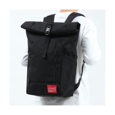 【ギャレリア】  マンハッタンポーテージ リュック Manhattan Portage バックパック Pace Backpack A3 ロールトップ MP2213 ユニセックス ブラック F GALLERIA