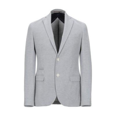 イレブンティ ELEVENTY テーラードジャケット ライトグレー 46 コットン 82% / 指定外繊維 15% / ポリウレタン 3% テーラー