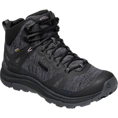 キーン シューズ レディース ハイキング Terradora II Mid WP Hiking Boot - Women's Black/Magnet