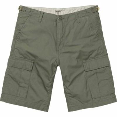 カーハート Carhartt WIP メンズ ショートパンツ ボトムス・パンツ carhartt aviation shorts Dollar Green Rinsed