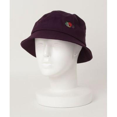 ALWAYS GOOD TIME NEW BASIC STORE / 【FRUIT OF THE LOOM/フルーツオブザルーム】コットンツイルロゴ刺繍バケットハット MEN 帽子 > ハット