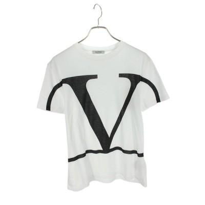 ヴァレンティノ VALENTINO SV3MG02T5F6 サイズ:S ロゴプリントTシャツ SJ02