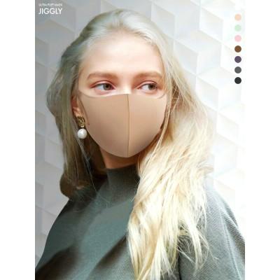 【ゆうメール便送料無料】ULUTRA PUFF MASK JIGGLY マスク 洗える ピンク ポリウレタン レディース メンズ  ウルトラ パフ マスク ジグリーJGM1011-1012-1013