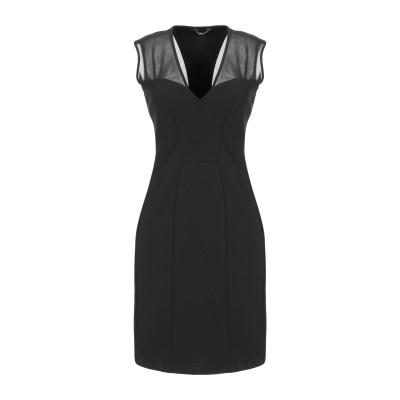 MARCIANO ミニワンピース&ドレス ブラック 48 レーヨン 65% / ナイロン 30% / ポリウレタン 5% ミニワンピース&ドレス