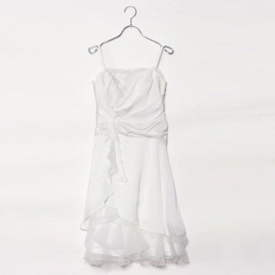 ジュネビビアン Genet Vivien 1.5次会 ウェディングドレス (ホワイト)