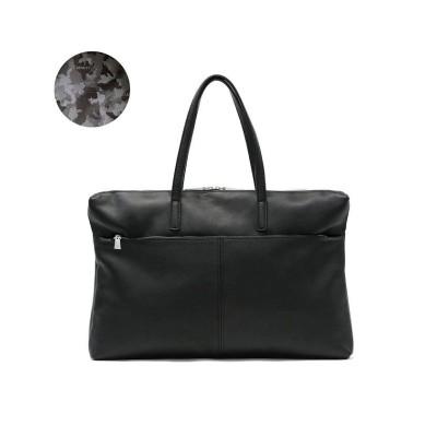 【ギャレリア】 アニアリ トートバッグ aniary Shrink Leather A3 大容量 通勤 レザー メンズ レディース 07-02008 ユニセックス ブラック F GALLERIA