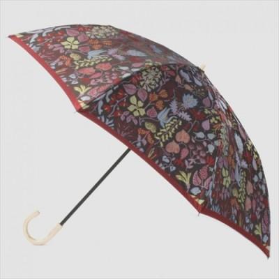 槙田商店【晴雨兼用】折りたたみ傘 Stig L.【HERBARIUM】(ハーバリウム) 赤
