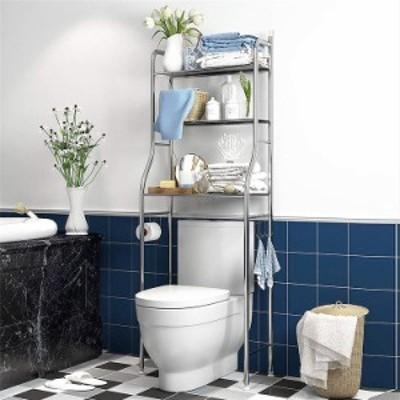トイレ収納ラック 3段式 トイレブラケット トイレ 棚 トイレラック トイレ用品 タオル トイレットペーパー 収納 インテリア 家具 すき間