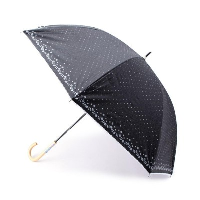 ITS' DEMO(イッツデモ) 晴雨兼用ドットフラワーパラソル(長傘)