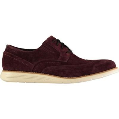 ロックポート Rockport メンズ 革靴・ビジネスシューズ ウイングチップ シューズ・靴 Wingtip Shoes Burgundy Sde