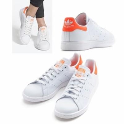 Adidas アディダス スタンスミス stan smith レディーススニーカー 白 オレンジ EE5863 WHT/ORG