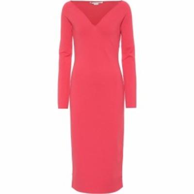 ステラ マッカートニー Stella McCartney レディース ワンピース ミドル丈 ワンピース・ドレス Knit midi dress pink sunset
