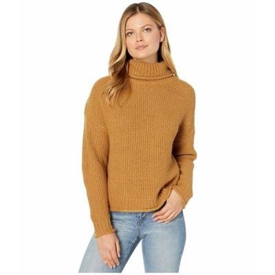 カットフロムザクロス ニット&セーター アウター レディース Hailee Long Sleeve Turtleneck Knit Sweater Camel