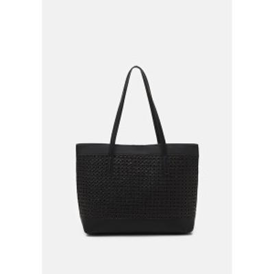 アンナフィールド レディース トートバッグ バッグ Tote bag - black black