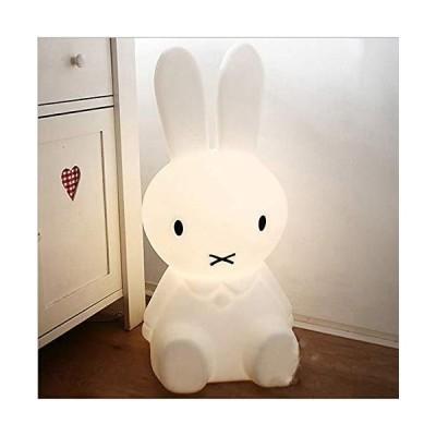 [新品]LEDナイトライト ベッドサイド 眠っている赤ちゃん漫画 テーブルランプ ウサギ ミッフィー 女