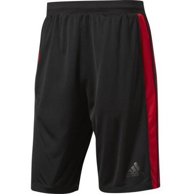 adidas アディダス D2M トレーニング3ストライプスショーツ メンズ MLS42 BLK/SC