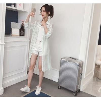UVカットレデイース吸水速乾の効果あり長袖無地熱中症対策トップスメール便で夏新作