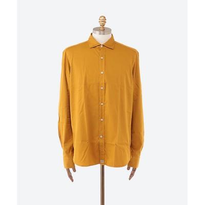 <SONRISA(Men)/ソンリーサ> ツイル製品染めカジュアルシャツ Y10イエロー【三越伊勢丹/公式】