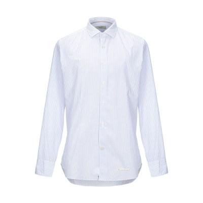TINTORIA MATTEI 954 シャツ スカイブルー 41 コットン 100% シャツ