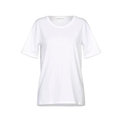 ランベルト・ロザーニ LAMBERTO LOSANI T シャツ ホワイト 46 コットン 92% / ポリウレタン 8% T シャツ