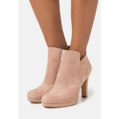 タマリス レディース ブーツ&レインブーツ シューズ High heeled ankle boots - old rose old rose
