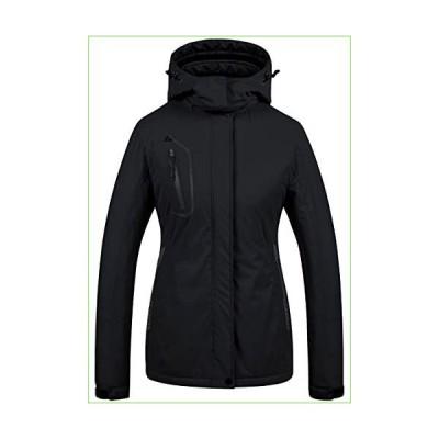 レディース マウンテン防水スキージャケット 防風 スノーボードジャケット 暖かい冬用コート レインコ
