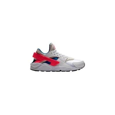 ナイキ メンズ エアハラチ Nike Air Huarache ランニングシューズ White/Ultramarine/Solar Red/Black スニーカー