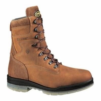 ウルヴァリン レインシューズ・長靴 DuraShocks Insulated Waterproof 6 Steel Toe Boot Stone