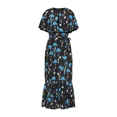 BORGO DE NOR ロングワンピース&ドレス ブラック 10 ポリエステル 100% ロングワンピース&ドレス