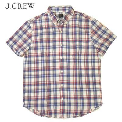 J CREW ボタンダウンチェックシャツ
