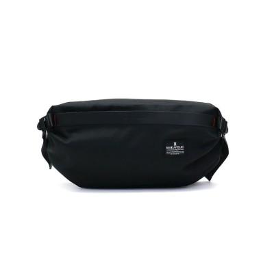 (MAKAVELIC/マキャベリック)マキャベリック ウエストバッグ MAKAVELIC チェイス CHASE ORIGAMI WAIST BAG オリガミ ボディバッグ 3109-10305/ユニセックス ブラック