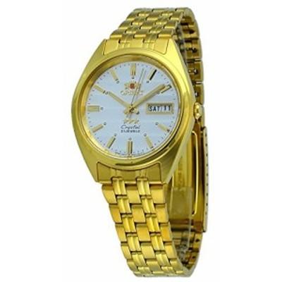 腕時計 オリエント メンズ Orient #FAB00008W Men's 3 Star Standard Gold Tone Silver Dial Automatic Wa