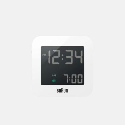BRAUN / Digital Clock BNC008WH-RC【ブラウン/デジタルクロック/置き時計/目覚まし時計/ディーターラムス】[113993