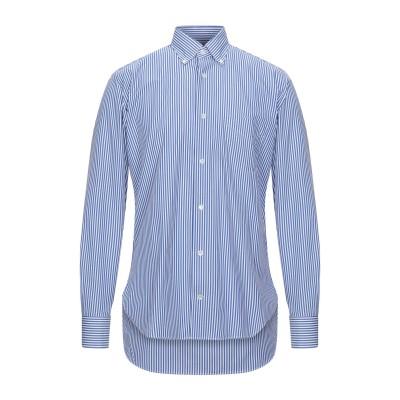 ダノリス DANOLIS シャツ ブルー 38 コットン 100% シャツ