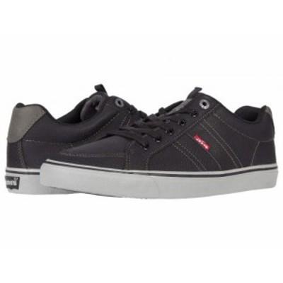 Levis(R) Shoes リーバイス メンズ 男性用 シューズ 靴 スニーカー 運動靴 Turner Tumbled Black/Charcoal【送料無料】