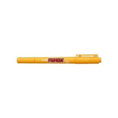 (注文条件:10本単位) プロッキー 極細+細字丸芯 水性顔料マーカー インク色:黄土色 品番:PM120T.19 三菱鉛筆(uni) 専門ストア サインペン
