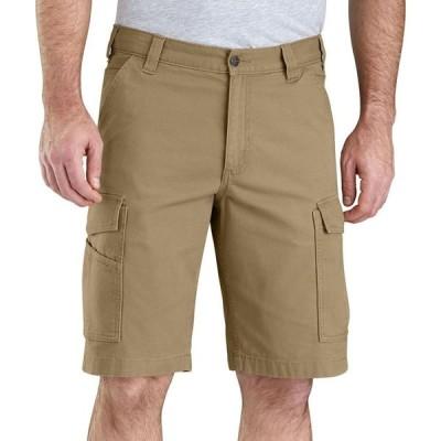 カーハート Carhartt メンズ ショートパンツ カーゴ ボトムス・パンツ Rugged Flex Rigby Cargo Shorts Dark Khaki