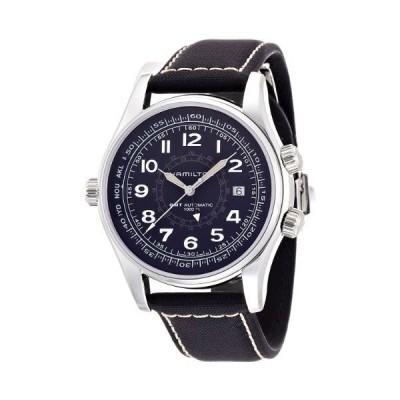 海外限定 Hamilton Men's H77505433 Khaki Navy UTS Automatic Watch