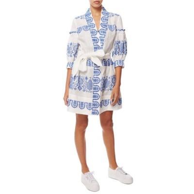 ミリー ワンピース トップス レディース Milly Agnes Linen Dress cobalt