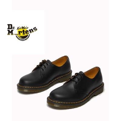 【Dr.Martens ドクターマーチン】3EYE SHOE 1461 3ホール シューズ ブラック メンズ レディース シューズ 革靴 カジュアル ビジネス 紳士靴【11837002】