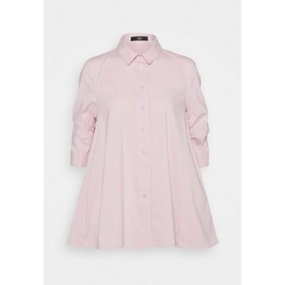 シュテフェン スクラウト シャツ レディース トップス BENITA FASHIONABLE BLOUSE - Button-down blouse - soft rose