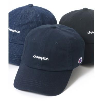Salong hameu / Champion◆ブランドロゴ刺繍ローキャップ WOMEN 帽子 > キャップ