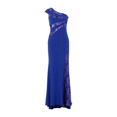 FOREVER UNIQUE ロングワンピース&ドレス ブルー 12 100% ポリエステル ロングワンピース&ドレス