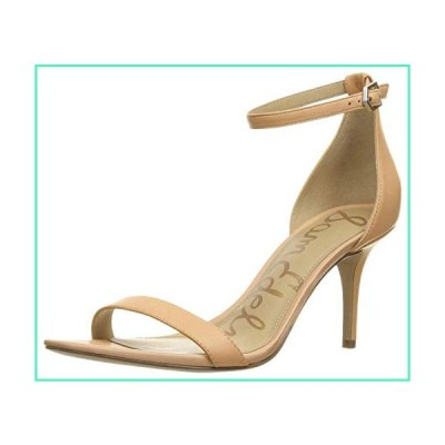 Sam Edelman Women's Patti Dress Sandal, Classic Nude Leather, 6.5 Wide US並行輸入品