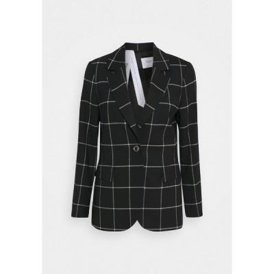 マルコポーロ ピュア ジャケット&ブルゾン レディース アウター Blazer - black