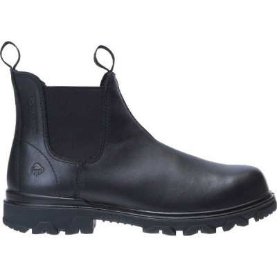 ウルヴァリン ブーツ&レインブーツ シューズ メンズ Wolverine Men's I-90 EPX Romeo Waterproof Composite Toe Work Boots Black