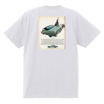アドバタイジング ビュイック 白223 Tシャツ 1965 リビエラ ルセーブル ワイルドキャット gs350 スカイラーク